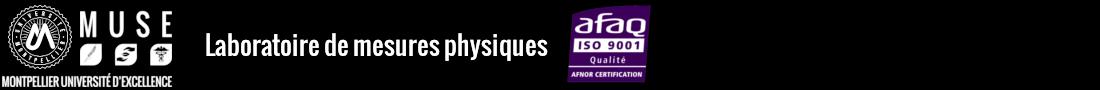 Laboratoire de mesures physiques Logo